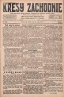 Kresy Zachodnie: pismo poświęcone obronie interesów narodowych na zachodnich ziemiach Polski 1927.07.12 R.5 Nr156