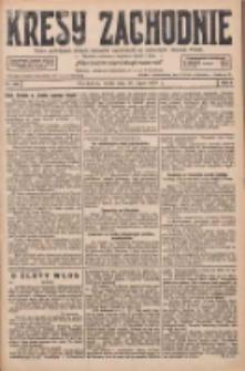 Kresy Zachodnie: pismo poświęcone obronie interesów narodowych na zachodnich ziemiach Polski 1927.07.20 R.5 Nr163