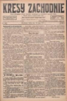 Kresy Zachodnie: pismo poświęcone obronie interesów narodowych na zachodnich ziemiach Polski 1927.07.23 R.5 Nr166