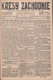 Kresy Zachodnie: pismo poświęcone obronie interesów narodowych na zachodnich ziemiach Polski 1927.07.27 R.5 Nr169