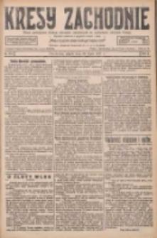 Kresy Zachodnie: pismo poświęcone obronie interesów narodowych na zachodnich ziemiach Polski 1927.07.29 R.5 Nr171