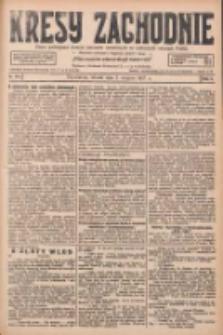 Kresy Zachodnie: pismo poświęcone obronie interesów narodowych na zachodnich ziemiach Polski 1927.08.02 R.5 Nr174