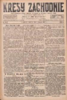 Kresy Zachodnie: pismo poświęcone obronie interesów narodowych na zachodnich ziemiach Polski 1927.08.04 R.5 Nr176