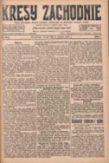 Kresy Zachodnie: pismo poświęcone obronie interesów narodowych na zachodnich ziemiach Polski 1927.08.09 R.5 Nr180