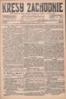 Kresy Zachodnie: pismo poświęcone obronie interesów narodowych na zachodnich ziemiach Polski 1927.08.13 R.5 Nr184