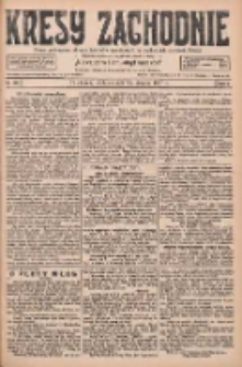 Kresy Zachodnie: pismo poświęcone obronie interesów narodowych na zachodnich ziemiach Polski 1927.08.14 R.5 Nr185