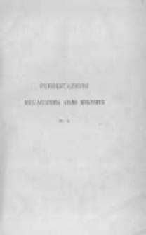 Adunanza solenne dell'Accademia Adamo Mickiewicz tenuta a Bologna il 28 Novembre 1880 e Relazione sullo stato della sua biblioteca