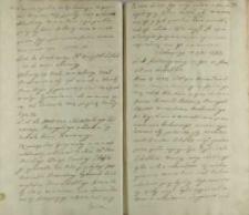 List do przełożoney wizytek lubelskich nowo obraney