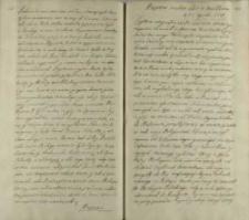 Respons na ten list z Wolborza d. 20 Aprilis 1719