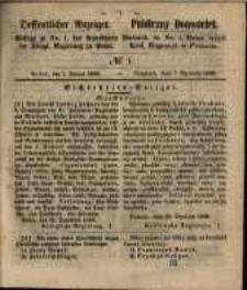 Oeffentlicher Anzeiger. 1851.01.07 Nro.1
