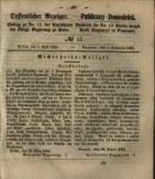 Oeffentlicher Anzeiger. 1851.04.01 Nro.13