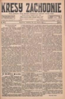 Kresy Zachodnie: pismo poświęcone obronie interesów narodowych na zachodnich ziemiach Polski 1927.08.28 R.5 Nr196