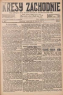 Kresy Zachodnie: pismo poświęcone obronie interesów narodowych na zachodnich ziemiach Polski 1927.08.30 R.5 Nr197