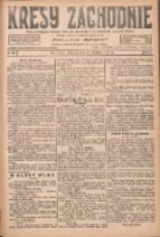 Kresy Zachodnie: pismo poświęcone obronie interesów narodowych na zachodnich ziemiach Polski 1927.09.01 R.5 Nr199