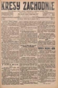 Kresy Zachodnie: pismo poświęcone obronie interesów narodowych na zachodnich ziemiach Polski 1927.09.03 R.5 Nr201