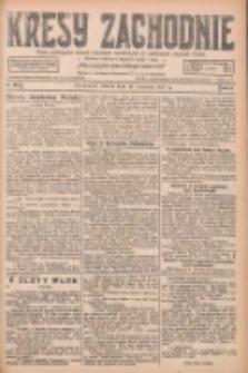Kresy Zachodnie: pismo poświęcone obronie interesów narodowych na zachodnich ziemiach Polski 1927.09.13 R.5 Nr209