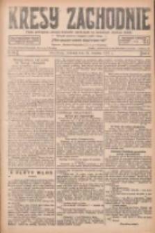 Kresy Zachodnie: pismo poświęcone obronie interesów narodowych na zachodnich ziemiach Polski 1927.09.18 R.5 Nr214