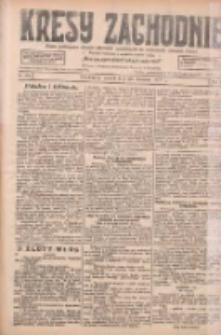 Kresy Zachodnie: pismo poświęcone obronie interesów narodowych na zachodnich ziemiach Polski 1927.09.20 R.5 Nr215