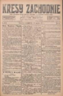 Kresy Zachodnie: pismo poświęcone obronie interesów narodowych na zachodnich ziemiach Polski 1927.09.22 R.5 Nr217