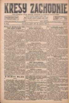 Kresy Zachodnie: pismo poświęcone obronie interesów narodowych na zachodnich ziemiach Polski 1927.09.23 R.5 Nr218