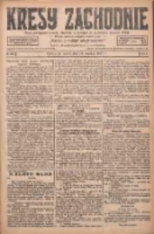 Kresy Zachodnie: pismo poświęcone obronie interesów narodowych na zachodnich ziemiach Polski 1927.09.24 R.5 Nr219
