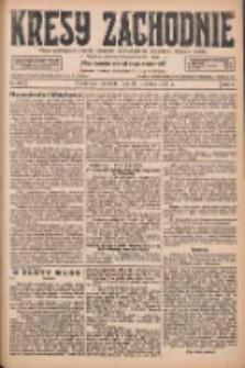 Kresy Zachodnie: pismo poświęcone obronie interesów narodowych na zachodnich ziemiach Polski 1927.09.25 R.5 Nr220