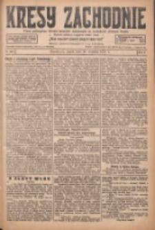 Kresy Zachodnie: pismo poświęcone obronie interesów narodowych na zachodnich ziemiach Polski 1927.09.30 R.5 Nr224