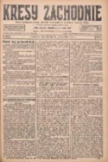 Kresy Zachodnie: pismo poświęcone obronie interesów narodowych na zachodnich ziemiach Polski 1927.10.09 R.5 Nr232