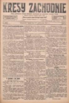 Kresy Zachodnie: pismo poświęcone obronie interesów narodowych na zachodnich ziemiach Polski 1927.10.11 R.5 Nr233