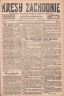 Kresy Zachodnie: pismo poświęcone obronie interesów narodowych na zachodnich ziemiach Polski 1927.10.16 R.5 Nr238
