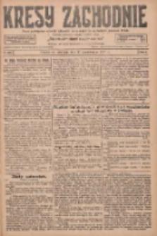 Kresy Zachodnie: pismo poświęcone obronie interesów narodowych na zachodnich ziemiach Polski 1927.10.30 R.5 Nr250