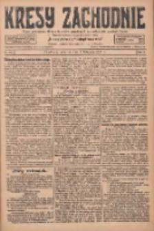 Kresy Zachodnie: pismo poświęcone obronie interesów narodowych na zachodnich ziemiach Polski 1927.11.03 R.5 Nr252