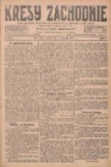 Kresy Zachodnie: pismo poświęcone obronie interesów narodowych na zachodnich ziemiach Polski 1927.11.04 R.5 Nr253