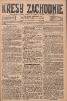 Kresy Zachodnie: pismo poświęcone obronie interesów narodowych na zachodnich ziemiach Polski 1927.11.23 R.5 Nr268
