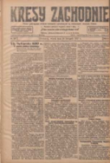 Kresy Zachodnie: pismo poświęcone obronie interesów narodowych na zachodnich ziemiach Polski 1927.11.29 R.5 Nr273