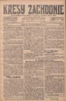 Kresy Zachodnie: pismo poświęcone obronie interesów narodowych na zachodnich ziemiach Polski 1927.11.30 R.5 Nr274