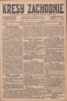 Kresy Zachodnie: pismo poświęcone obronie interesów narodowych na zachodnich ziemiach Polski 1927.12.01 R.5 Nr275