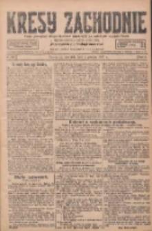 Kresy Zachodnie: pismo poświęcone obronie interesów narodowych na zachodnich ziemiach Polski 1927.12.04 R.5 Nr278