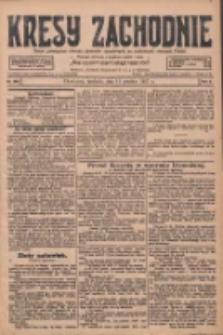 Kresy Zachodnie: pismo poświęcone obronie interesów narodowych na zachodnich ziemiach Polski 1927.12.11 R.5 Nr283