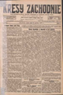 Kresy Zachodnie: pismo poświęcone obronie interesów narodowych na zachodnich ziemiach Polski 1927.12.16 R.5 Nr287