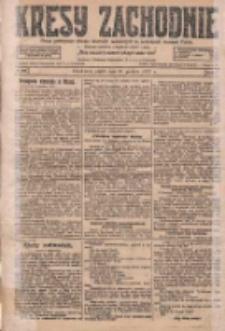 Kresy Zachodnie: pismo poświęcone obronie interesów narodowych na zachodnich ziemiach Polski 1927.12.30 R.5 Nr298
