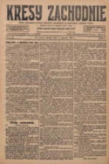 Kresy Zachodnie: pismo poświęcone obronie interesów narodowych na zachodnich ziemiach Polski 1928.01.03 R.6 Nr2