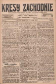 Kresy Zachodnie: pismo poświęcone obronie interesów narodowych na zachodnich ziemiach Polski 1928.01.19 R.6 Nr15