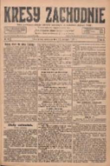Kresy Zachodnie: pismo poświęcone obronie interesów narodowych na zachodnich ziemiach Polski 1928.01.22 R.6 Nr18