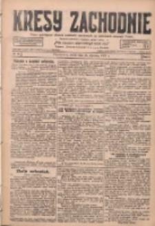 Kresy Zachodnie: pismo poświęcone obronie interesów narodowych na zachodnich ziemiach Polski 1928.01.25 R.6 Nr20