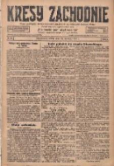 Kresy Zachodnie: pismo poświęcone obronie interesów narodowych na zachodnich ziemiach Polski 1928.01.28 R.6 Nr23