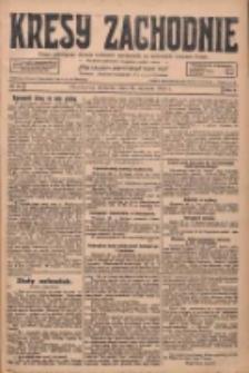 Kresy Zachodnie: pismo poświęcone obronie interesów narodowych na zachodnich ziemiach Polski 1928.01.29 R.6 Nr24