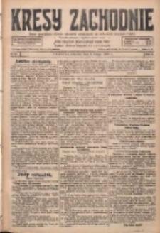Kresy Zachodnie: pismo poświęcone obronie interesów narodowych na zachodnich ziemiach Polski 1928.02.02 R.6 Nr27