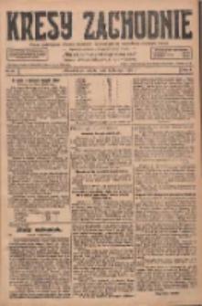 Kresy Zachodnie: pismo poświęcone obronie interesów narodowych na zachodnich ziemiach Polski 1928.02.04 R.6 Nr28