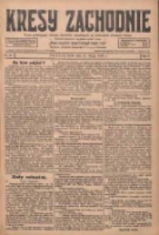 Kresy Zachodnie: pismo poświęcone obronie interesów narodowych na zachodnich ziemiach Polski 1928.02.15 R.6 Nr37